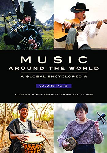 9781610694988: Music around the World [4 volumes]: A Global Encyclopedia