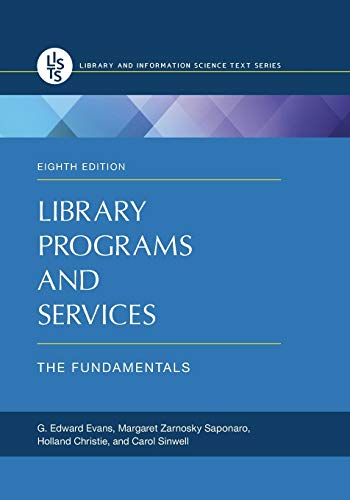 9781610696371: Library Programs and Services: The Fundamentals, 8th Edition (Recent Titles in Library and Information Science Text Series)