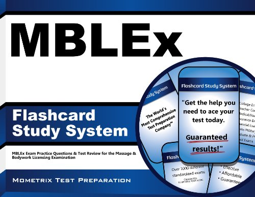 9781610720069: Mblex Flashcard Study System: Mblex Exam Practice Questions and Test Review for the Massage and Bodywork Licensing Examination