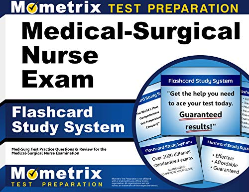 9781610720144: Medical-Surgical Nurse Exam Flashcard Study System: Med-Surg Test Practice Questions & Review for the Medical-Surgical Nurse Examination (Cards)