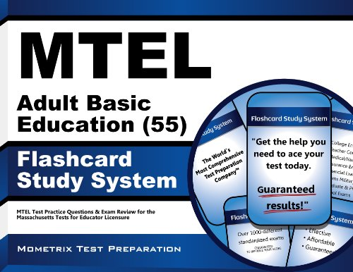 9781610720267: MTEL Adult Basic Education (55) Flashcard Study System: MTEL Test Practice Questions & Exam Review for the Massachusetts Tests for Educator Licensure (Cards)