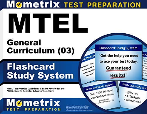 9781610720489: MTEL General Curriculum (03) Flashcard Study System: MTEL Test Practice Questions & Exam Review for the Massachusetts Tests for Educator Licensure (Cards)