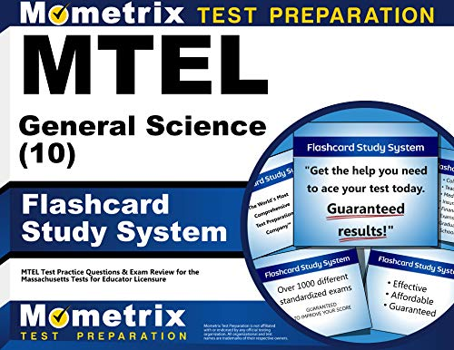 9781610720502: MTEL General Science (10) Flashcard Study System: MTEL Test Practice Questions & Exam Review for the Massachusetts Tests for Educator Licensure (Cards)