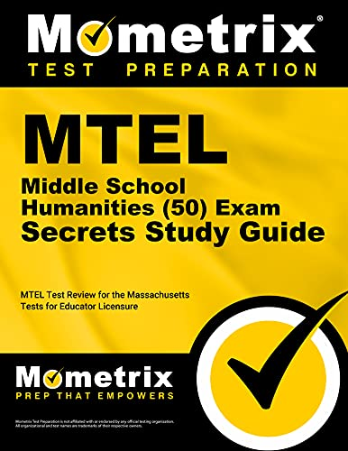 9781610720571: MTEL Middle School Humanities (50) Exam Secrets Study Guide: MTEL Test Review for the Massachusetts Tests for Educator Licensure