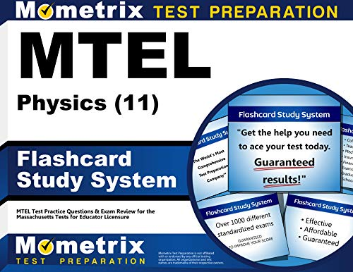 9781610720687: MTEL Physics (11) Flashcard Study System: MTEL Test Practice Questions & Exam Review for the Massachusetts Tests for Educator Licensure (Cards)