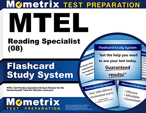 9781610720724: MTEL Reading Specialist (08) Flashcard Study System: MTEL Test Practice Questions & Exam Review for the Massachusetts Tests for Educator Licensure (Cards)