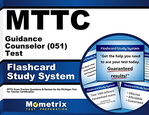 9781610721264: MTTC Guidance Counselor (051) Test Flashcard Study System: MTTC Exam Practice Questions & Review for the Michigan Test for Teacher Certification (Cards)