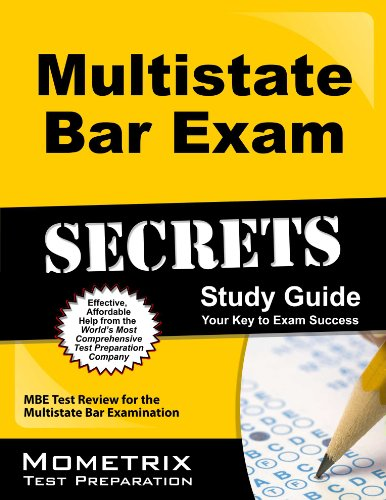 9781610721806: Multistate Bar Exam Secrets Study Guide: MBE Test Review for the Multistate Bar Examination