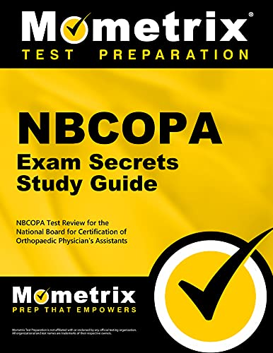 9781610721974: NBCOPA Exam Secrets Study Guide: NBCOPA Test Review for the National Board for Certification of Orthopaedic Physician's Assistants Examination