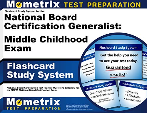 9781610722124: Flashcard Study System for the National Board Certification Generalist: Middle Childhood Exam: National Board Certification Test Practice Questions & ... National Board Certification Exam (Cards)