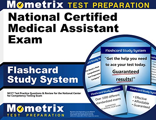 9781610722285: National Certified Medical Assistant Exam Flashcard Study System: NCCT Test Practice Questions & Review for the National Center for Competency Testing Exam (Cards)