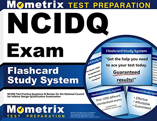 Ncidq exam flashcard study system ncidq test practice questions review for the national for Interior design exam questions