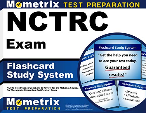 9781610722476: NCTRC Exam Flashcard Study System: NCTRC Test Practice Questions & Review for the National Council for Therapeutic Recreation Certification Exam (Cards)