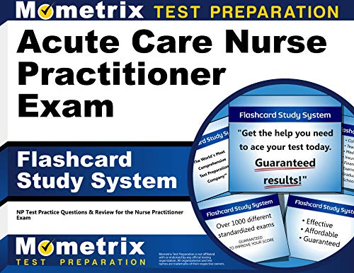 9781610722988: Acute Care Nurse Practitioner Exam Flashcard Study System: NP Test Practice Questions & Review for the Nurse Practitioner Exam (Cards)