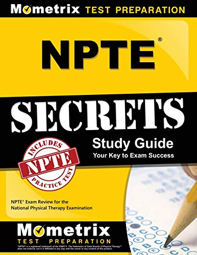9781610723176: NPTE Secrets Study Guide: NPTE Exam Review for the National Physical Therapy Examination