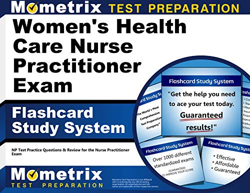 9781610723206: Women's Health Care Nurse Practitioner Exam Flashcard Study System: NP Test Practice Questions & Review for the Nurse Practitioner Exam (Cards)