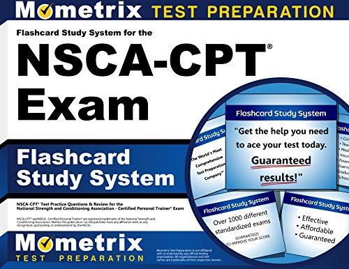 9781610723251: Flashcard Study System for the NSCA-CPT Exam: NSCA-CPT Test Practice Questions & Review for the National Strength and Conditioning Association - Certified Personal Trainer Exam (Cards)