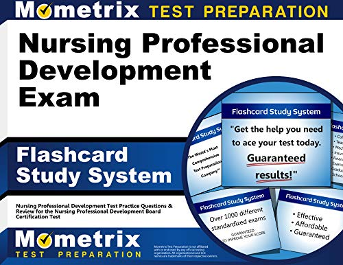 9781610723336: Nursing Professional Development Exam Flashcard Study System: Nursing Professional Development Test Practice Questions & Review for the Nursing ... Development Board Certification Test (Cards)