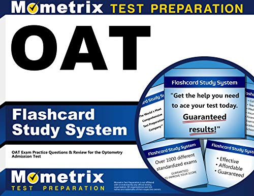 OAR Flashcard Study System: OAT Exam Practice Questions & Review for the Optometry Admission ...