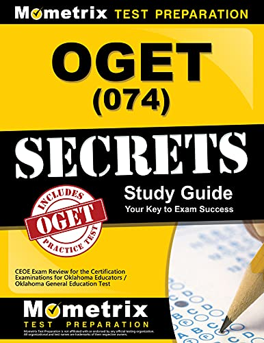9781610723909: OGET (074) Secrets Study Guide: CEOE Exam Review for the Certification Examinations for Oklahoma Educators / Oklahoma General Education Test
