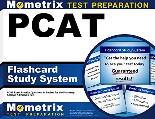 PCAT Flashcard Study System: PCAT Exam Practice Questions and Review for the Pharmacy College ...