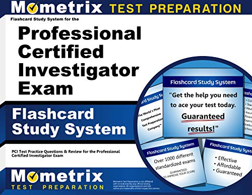 9781610724951: Flashcard Study System for the Professional Certified Investigator Exam: PCI Test Practice Questions & Review for the Professional Certified Investigator Exam (Cards)