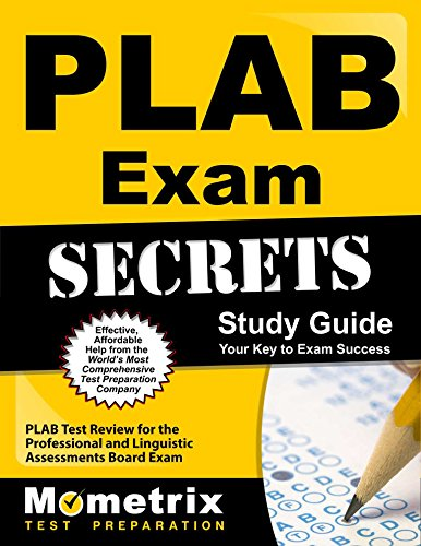 9781610725088: PLAB Exam Secrets Study Guide: PLAB Test Review for the Professional and Linguistic Assessments Board Exam
