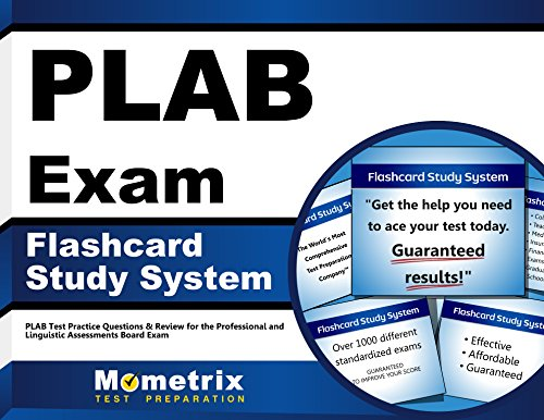 9781610725095: PLAB Exam Flashcard Study System: PLAB Test Practice Questions & Review for the Professional and Linguistic Assessments Board Exam (Cards)