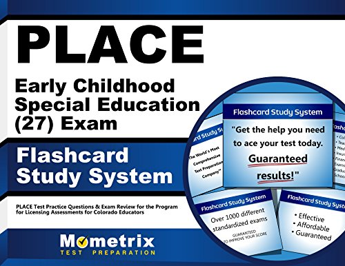 9781610725255: PLACE Early Childhood Special Education (27) Exam Flashcard Study System: PLACE Test Practice Questions & Exam Review for the Program for Licensing Assessments for Colorado Educators (Cards)