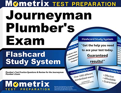 9781610725705: Journeyman Plumber's Exam Flashcard Study System: Plumber's Test Practice Questions & Review for the Journeyman Plumber's Exam (Cards)