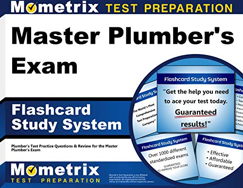 9781610725729: Master Plumber's Exam Flashcard Study System: Plumber's Test Practice Questions & Review for the Master Plumber's Exam (Cards)