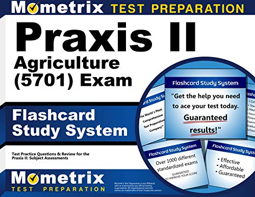 9781610725866: Praxis II Agriculture (5701) Exam Flashcard Study System: Praxis II Test Practice Questions & Review for the Praxis II: Subject Assessments
