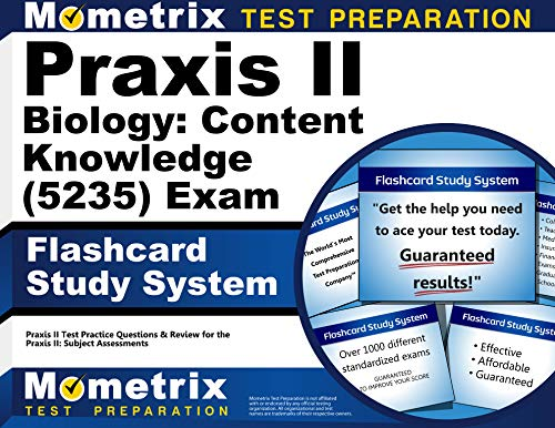 9781610725989: Praxis II Biology: Content Knowledge (5235) Exam Flashcard Study System: Praxis II Test Practice Questions & Review for the Praxis II: Subject Assessments (Cards)