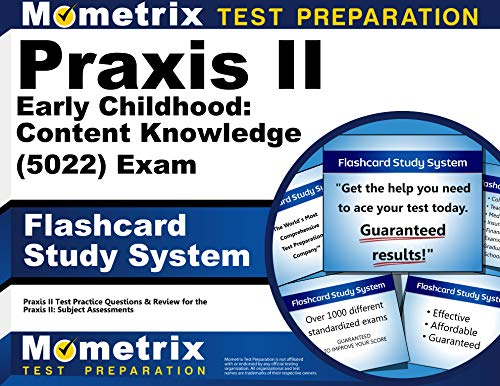 9781610726207: Praxis II Early Childhood: Content Knowledge (5022) Exam Flashcard Study System: Praxis II Test Practice Questions & Review for the Praxis II: Subject Assessments (Cards)
