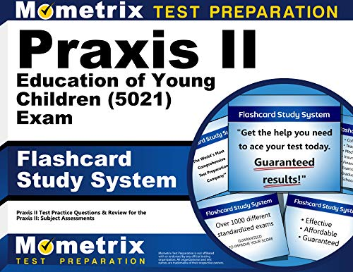 9781610726351: Praxis II Education of Young Children (5021) Exam Flashcard Study System: Praxis II Test Practice Questions & Review for the Praxis II: Subject Assessments (Cards)