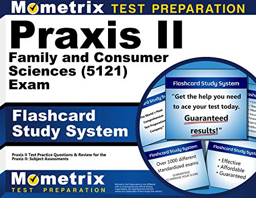 9781610726528: Praxis II Family and Consumer Sciences (5121) Exam Flashcard Study System: Praxis II Test Practice Questions & Review for the Praxis II: Subject Assessments (Cards)