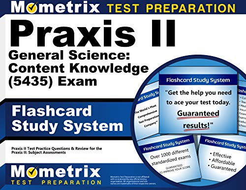 9781610726580: Praxis II General Science: Content Knowledge (5435) Exam Flashcard Study System: Praxis II Test Practice Questions & Review for the Praxis II: Subject Assessments (Cards)