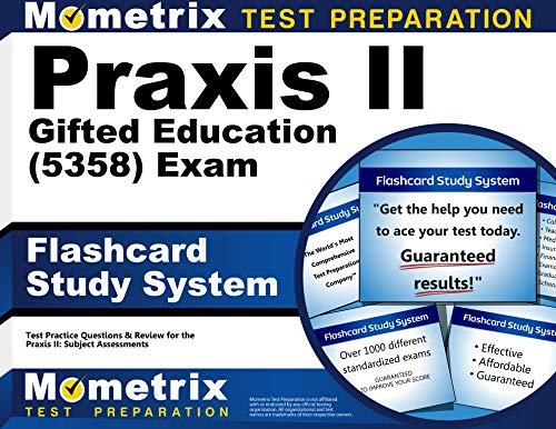 9781610726665: Praxis II Gifted Education (5358) Exam Flashcard Study System: Praxis II Test Practice Questions & Review for the Praxis II: Subject Assessments