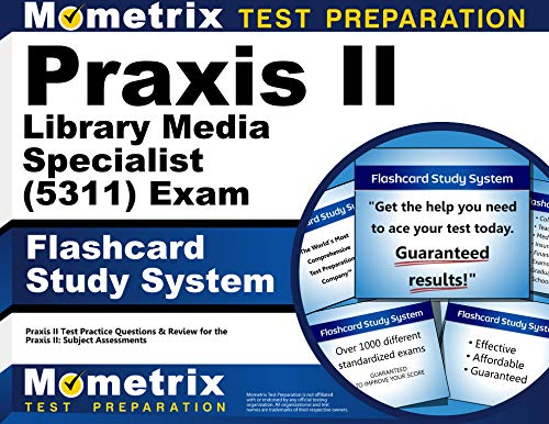 9781610726788: Praxis II Library Media Specialist (5311) Exam Flashcard Study System: Praxis II Test Practice Questions & Review for the Praxis II: Subject Assessments (Cards)