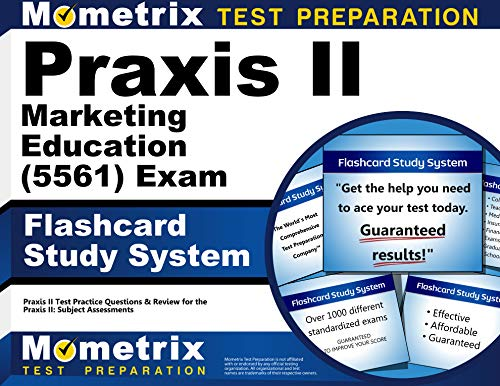 9781610726825: Praxis II Marketing Education (5561) Exam Flashcard Study System: Praxis II Test Practice Questions & Review for the Praxis II: Subject Assessments (Cards)