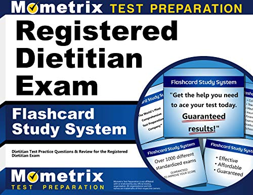 9781610728041: Registered Dietitian Exam Flashcard Study System: Dietitian Test Practice Questions & Review for the Registered Dietitian Exam (Cards)