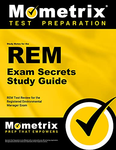 9781610728218: Study Notes for the REM Exam Study Guide: REM Test Review for the Registered Environmental Manager Exam (Mometrix Secrets Study Guides)
