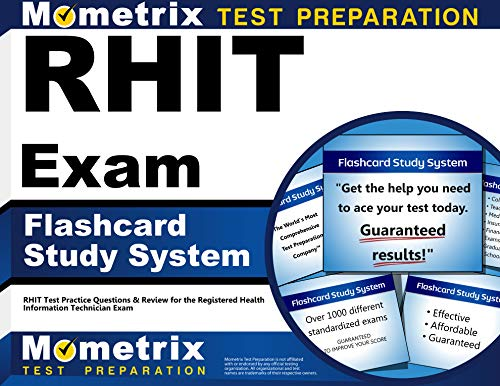 9781610728287: RHIT Exam Flashcard Study System: RHIT Test Practice Questions & Review for the Registered Health Information Technician Exam (Cards)