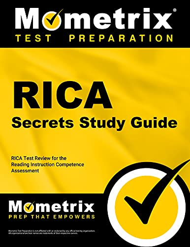 9781610728294: RICA Secrets Study Guide: RICA Test Review for the Reading Instruction Competence Assessment