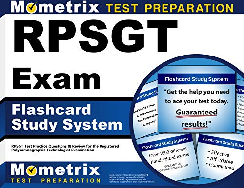 Rpsgt Exam Flashcard Study System: Rpsgt Test