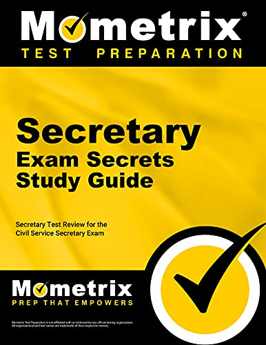 9781610728492: Secretary Exam Secrets Study Guide: Secretary Test Review for the Civil Service Secretary Exam (Mometrix Test Preparation)