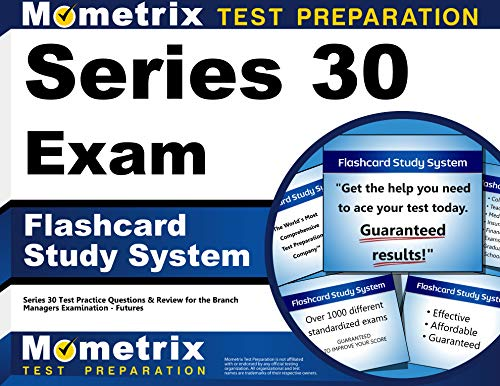9781610728546: Series 30 Exam Flashcard Study System: Series 30 Test Practice Questions & Review for the Branch Managers Examination - Futures (Cards)