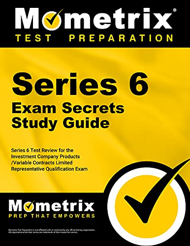 9781610728560: Series 6 Exam Secrets Study Guide: Series 6 Test Review for the Investment Company Products/Variable Contracts Limited Representative Qualification Exam