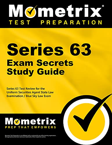 9781610728591: Series 63 Exam Secrets Study Guide: Series 63 Test Review for the Uniform Securities Agent State Law Examination / Blue Sky Law Exam