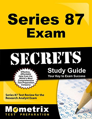9781610728683: Series 87 Exam Secrets Study Guide: Series 87 Test Review for the Research Analyst Exam